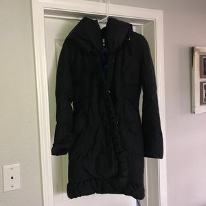 Tahari Black Winter Coat M
